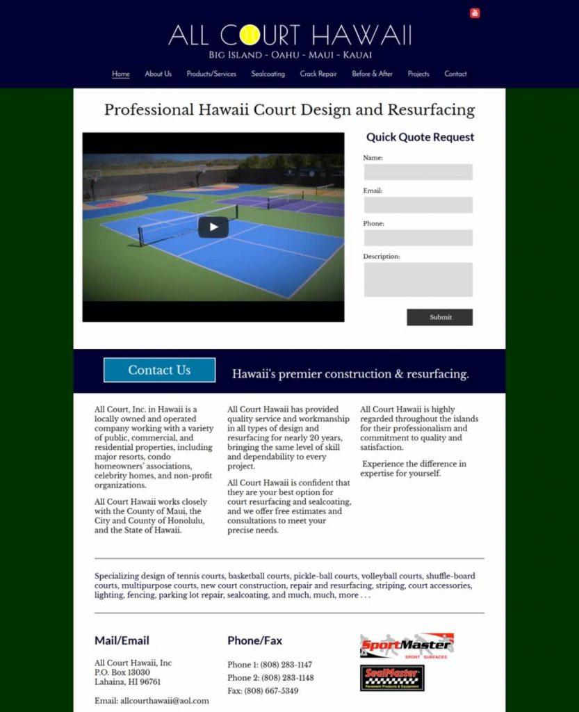 all-court-hawaii